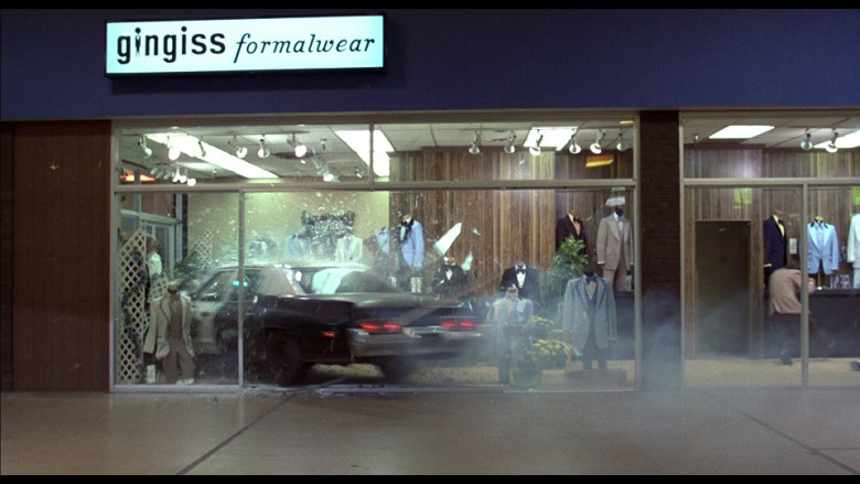 Gingiss Formalwear Store in The Blues Brothers (1980)