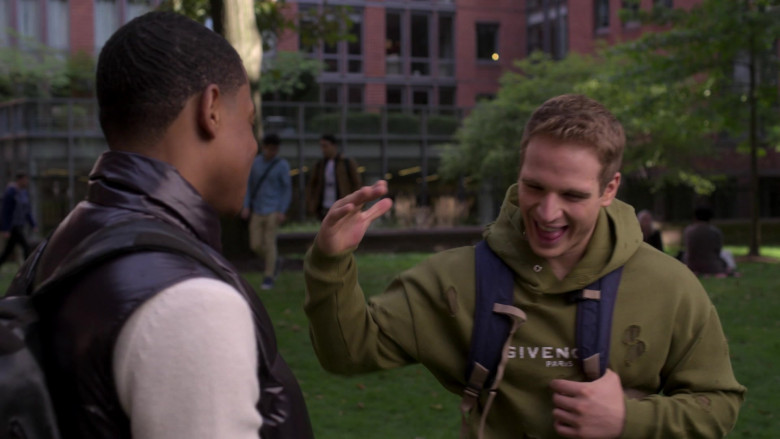 Givenchy Men's Hoodie of Gianni Paolo as Brayden Weston in Power Book II Ghost S01E10 (2)