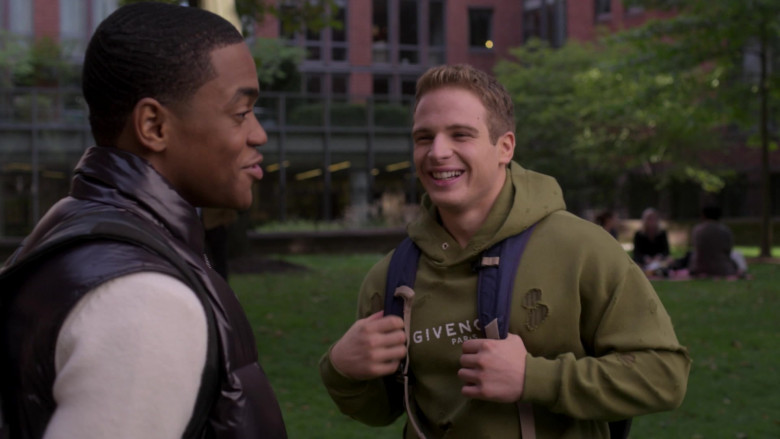 Givenchy Men's Hoodie of Gianni Paolo as Brayden Weston in Power Book II Ghost S01E10 (3)