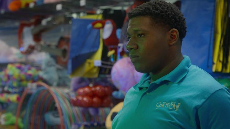 Golf N' Stuff Polo Shirt of Khalil Everage as Chris in Cobra Kai S03E05 (2)