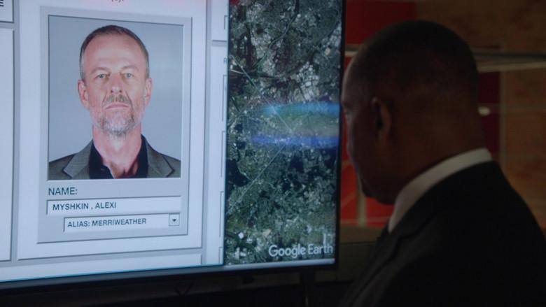 Google Earth App in NCIS S18E05 Head of the Snake (3)
