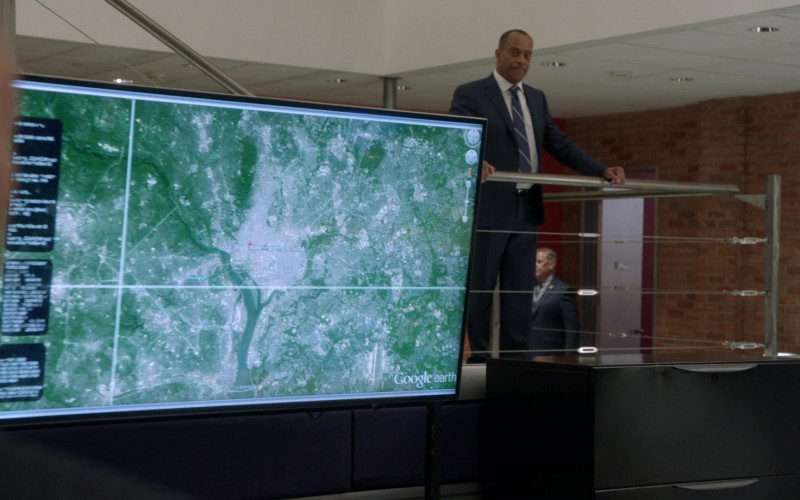 Google Earth in NCIS S18E06 1mm (2021)