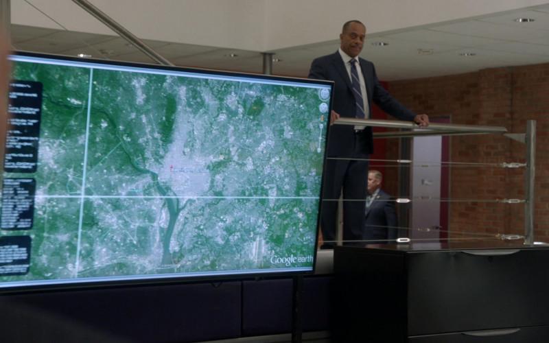 Google Earth in NCIS S18E06 1mm (2021)