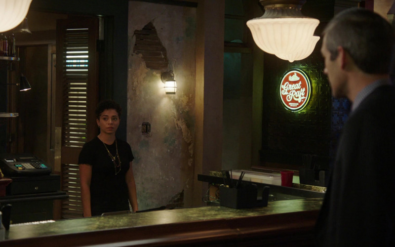 Great Raft Brewing Round Sign in NCIS New Orleans S07E06