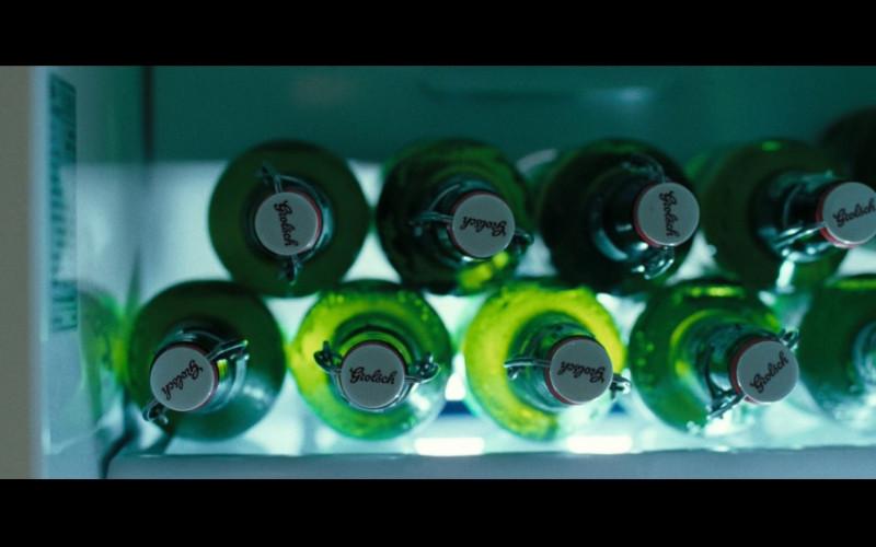 Grolsch Beer Bottles in Hot Fuzz (2007)