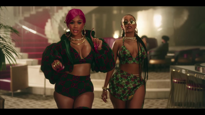 Gucci Women's Outfits 2021 of Saweetie & Doja Cat (1)