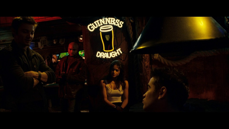 Guinness Draught Neon Sign in S.W.A.T. (2003)