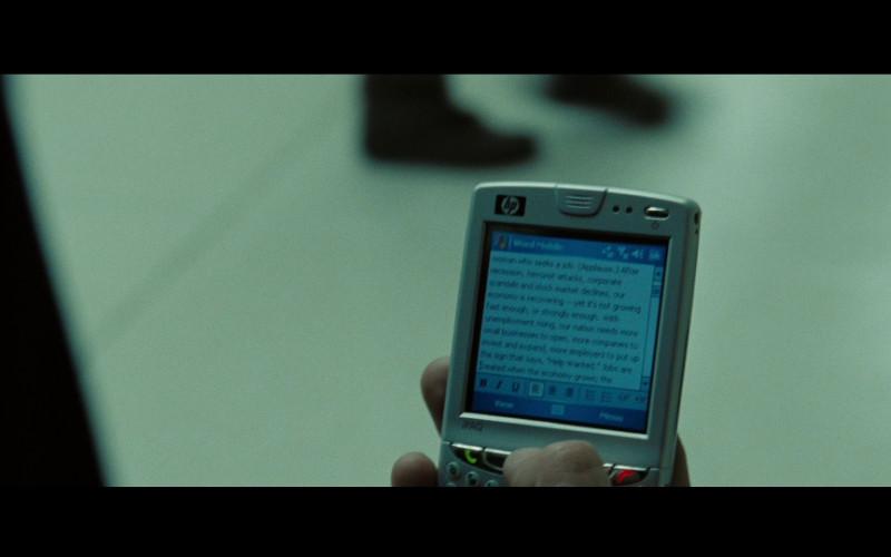 HP Ipaq Pocket PC in Eagle Eye (2008)