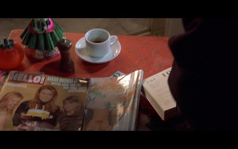 Hello! magazine in Bridget Jones's Diary (2001)