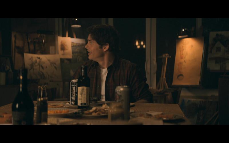 Hi Neighbor! Narragansett Beer of James Marsden as Stu Redman in The Stand S01E03