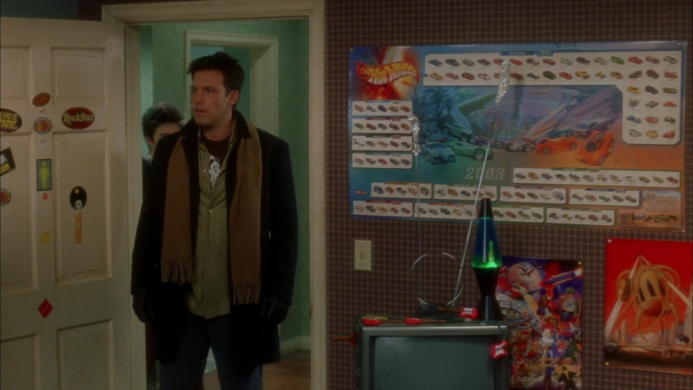 Hot Wheels Poster in Surviving Christmas (1)
