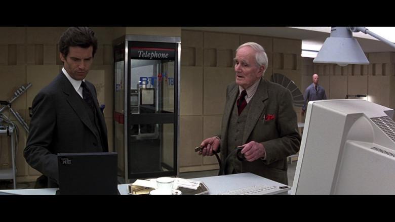 IBM Black Laptop Used by Pierce Brosnan as James Bond (007) in GoldenEye (1995)