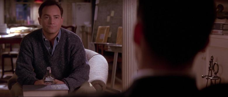Jack Daniel's Tennessee Whiskey Bottle Held by Kevin Pollak as Lieutenant Sam Weinberg in A Few Good Men (1992)