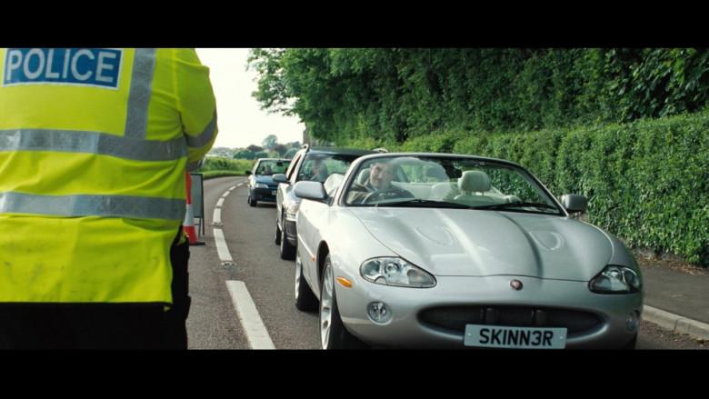 Jaguar XKR Convertible Car in Hot Fuzz Movie (1)