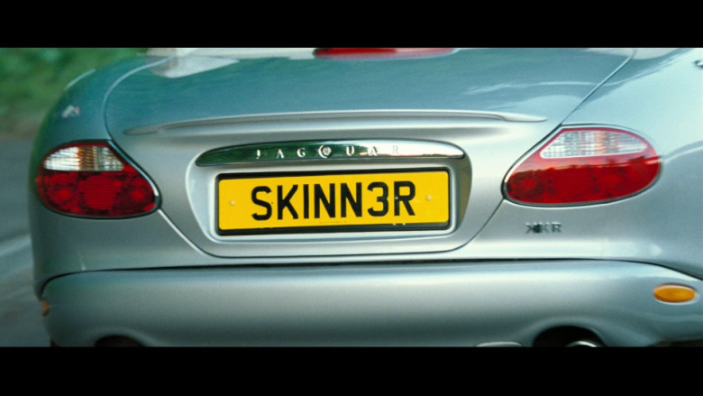 Jaguar XKR Convertible Car in Hot Fuzz Movie (2)