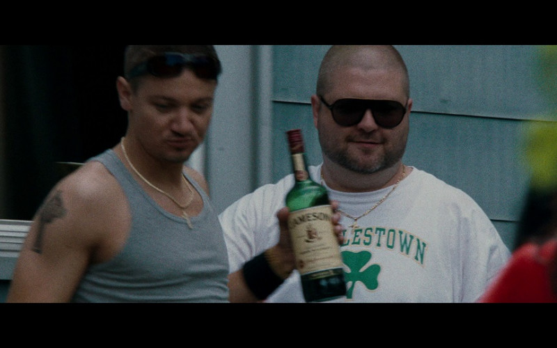 Jameson Bottle Held by Jeremy Renner as James 'Jem' Coughlin in The Town (2010)