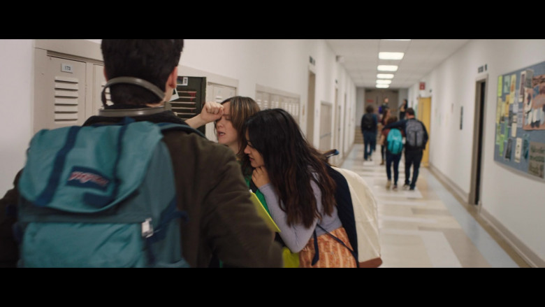 JanSport Backpack of Keean Johnson in The Ultimate Playlist of Noise (1)