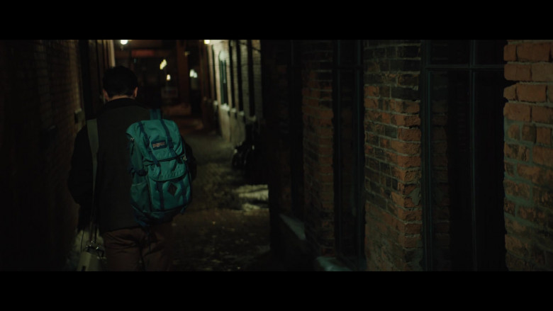JanSport Backpack of Keean Johnson in The Ultimate Playlist of Noise (2)