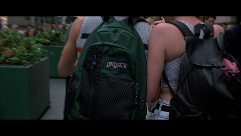 JanSport Green Backpack in The Peacemaker (1997)