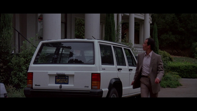 Jeep Cherokee White Car in A View to a Kill (1985)