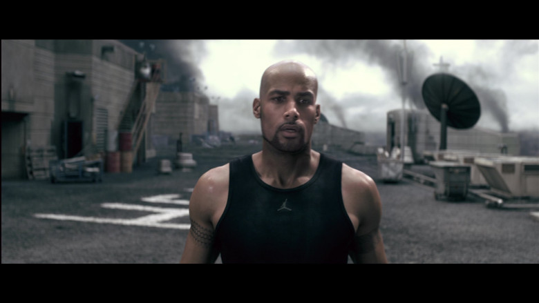 Jordan Men's Tee of Boris Kodjoe as Luther West in Resident Evil Afterlife (1)