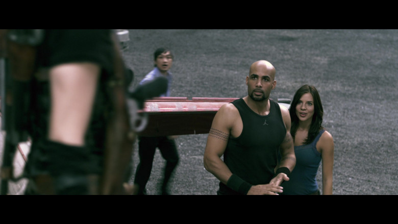 Jordan Men's Tee of Boris Kodjoe as Luther West in Resident Evil Afterlife (3)