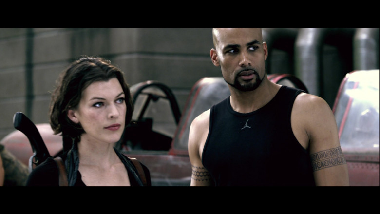 Jordan Men's Tee of Boris Kodjoe as Luther West in Resident Evil Afterlife (4)