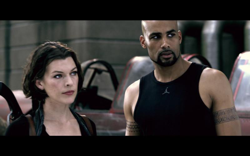 Jordan Men's Tee of Boris Kodjoe as Luther West in Resident Evil Afterlife (4)