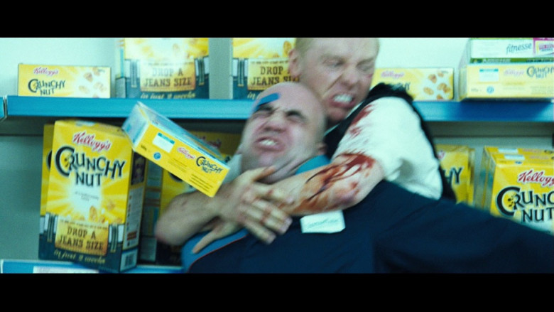 Kellogg's Crunchy Nut Breakfast Cereals in Hot Fuzz (2007)