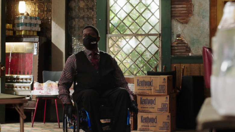 Kentwood Springs Bottled Water in NCIS New Orleans S07E05