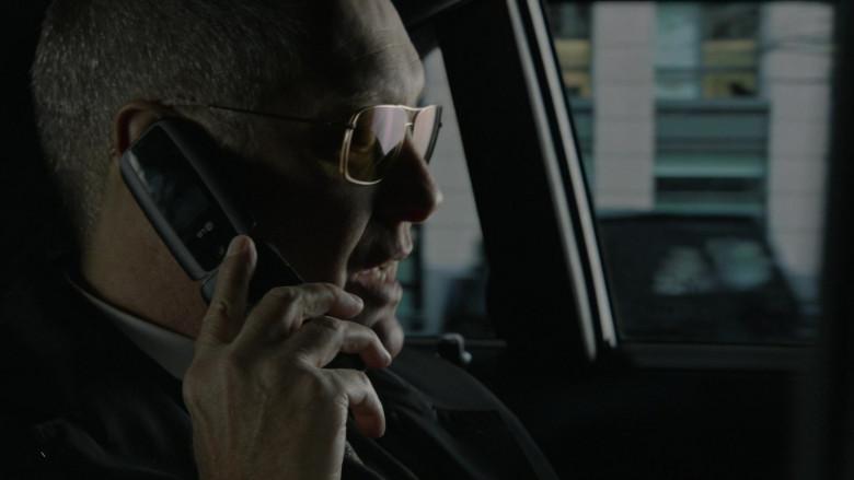 LG Flip Phone of Actor James Spader as Raymond 'Red' Reddington in The Blacklist S08E04 Elizabeth Keen (2021)