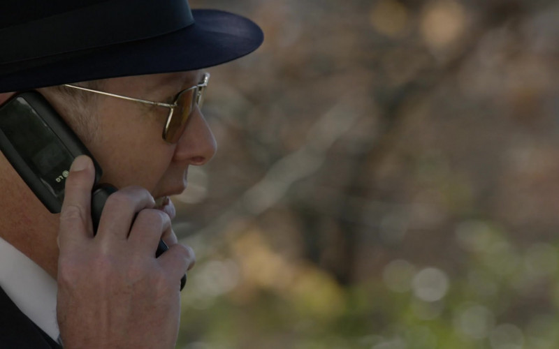 LG Mobile Phone Used by Actor James Spader as Raymond 'Red' Reddington in The Blacklist S08E03 (1)
