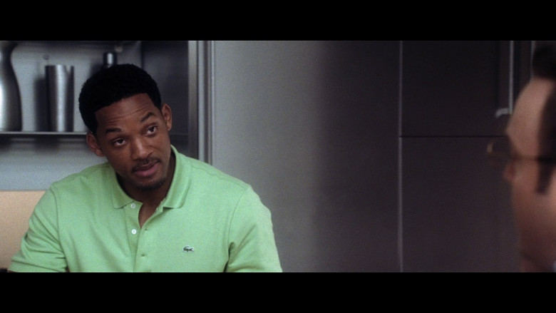 Lacoste Green Polo Shirt of Will Smith as Alex Hitchens in Hitch (2005)