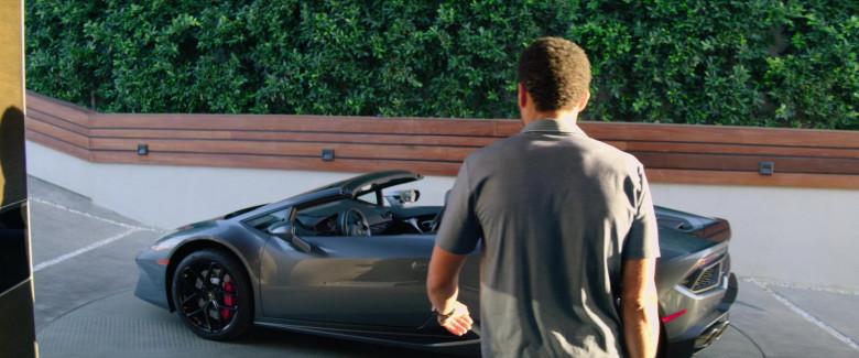 Lamborghini Huracan Convertible Sports Car of Michael Ealy as Derrick Tyler (1)