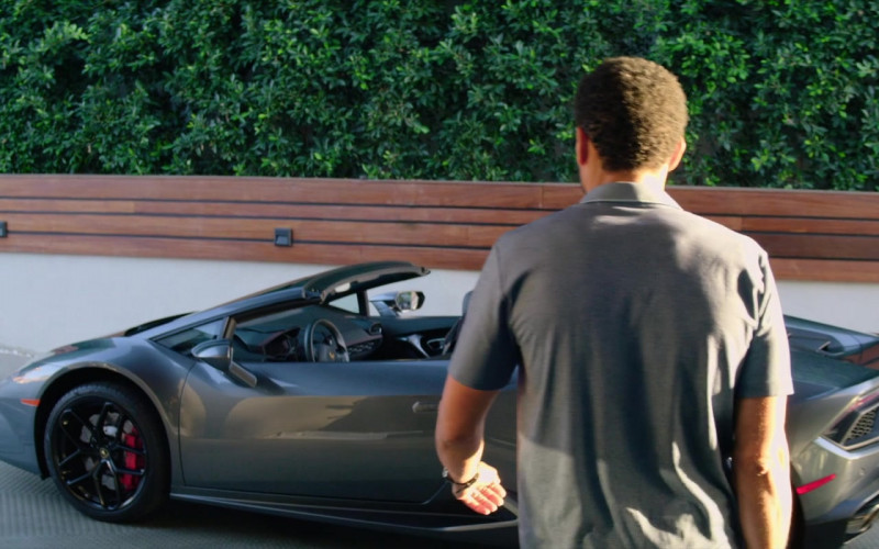 Lamborghini Huracan Convertible Sports Car of Michael Ealy as Derrick Tyler (1)