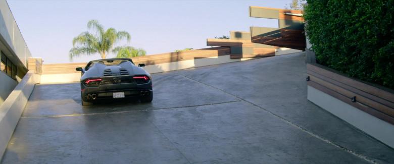 Lamborghini Huracan Convertible Sports Car of Michael Ealy as Derrick Tyler (2)