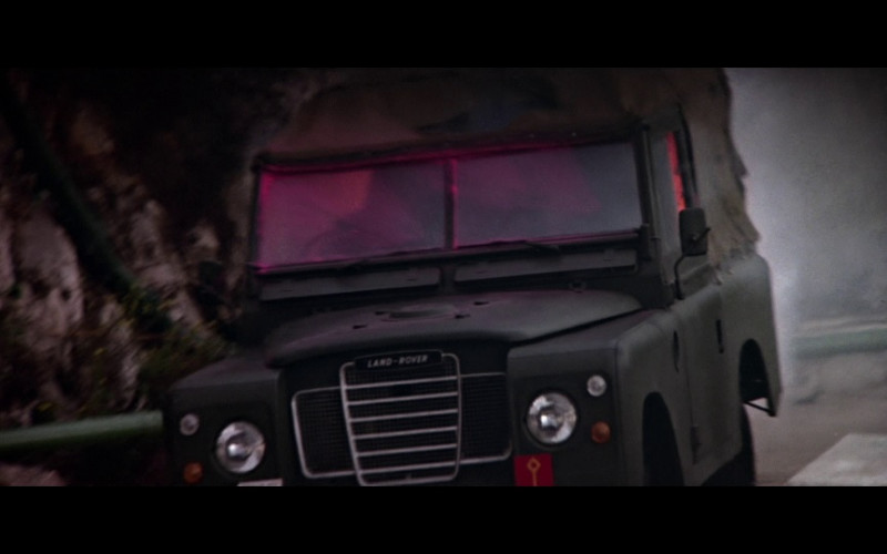 """Land Rover 88"""" Series III Car in The Living Daylights (1987)"""