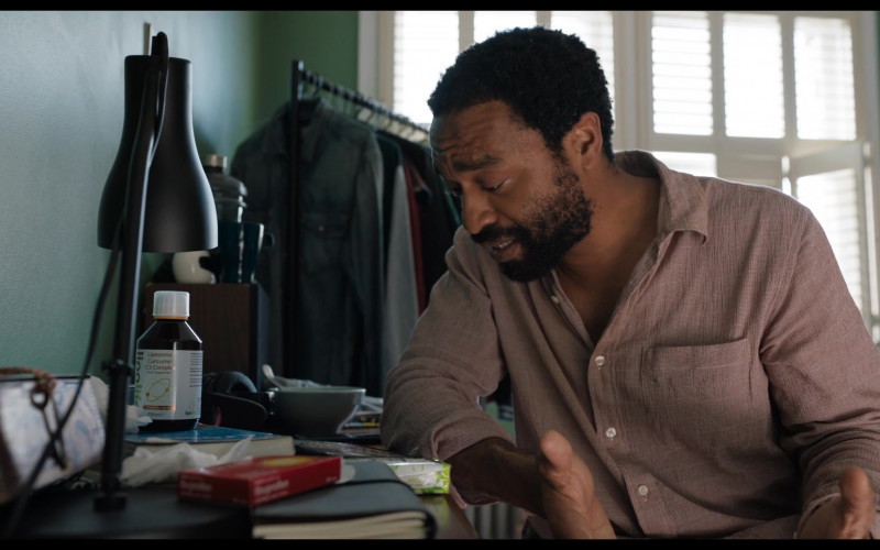 Lipolife Liposomal Curcumin C3 Complex of Chiwetel Ejiofor as Paxton Riggs in Locked Down (2021)