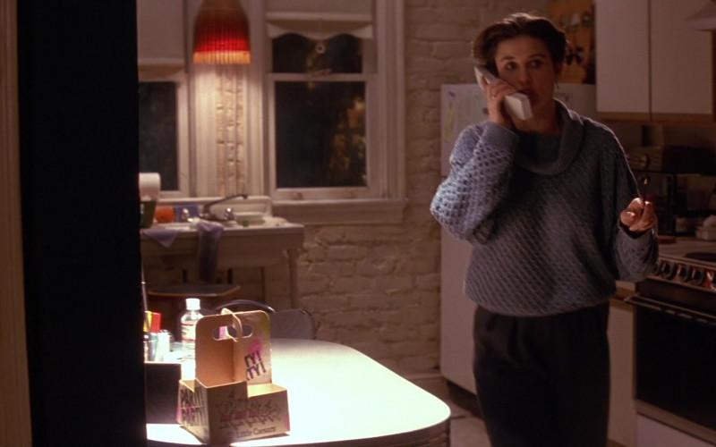 Little Caesars Restaurant Company Napkin & Straw Holder of Demi Moore as Lieutenant Commander Jo