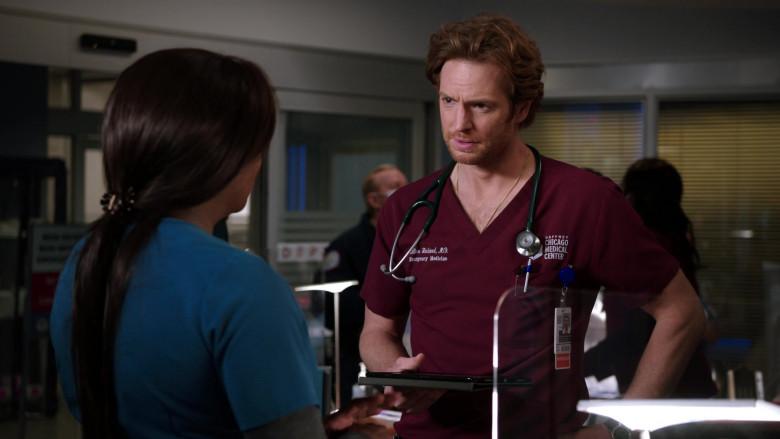 Littmann Stethoscope of Nick Gehlfuss as Dr. Will Halstead in Chicago Med S06E03 (1)