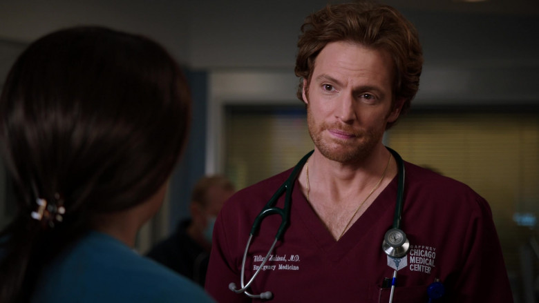 Littmann Stethoscope of Nick Gehlfuss as Dr. Will Halstead in Chicago Med S06E03 (2)