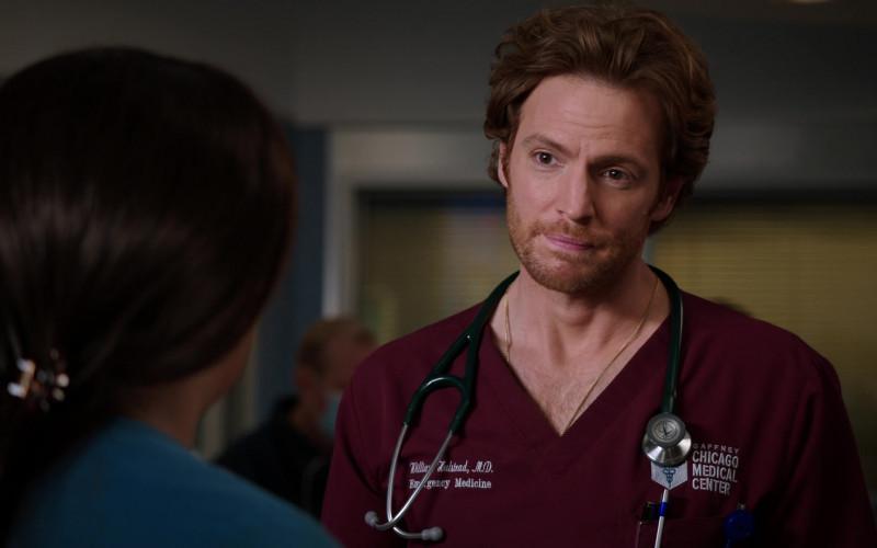 Littmann Stethoscope of Nick Gehlfuss as Dr. Will Halstead in Chicago Med S06E03 (2)
