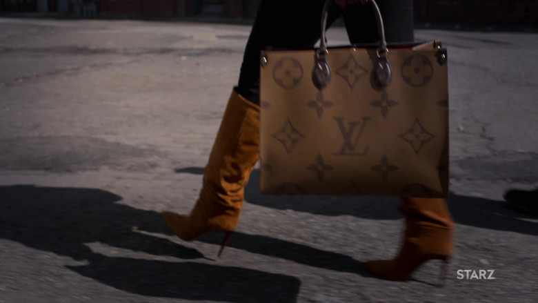Louis Vuitton Handbag of Mary J. Blige as Monet Stewart Tejada in Power Book II Ghost S01E10 (1)