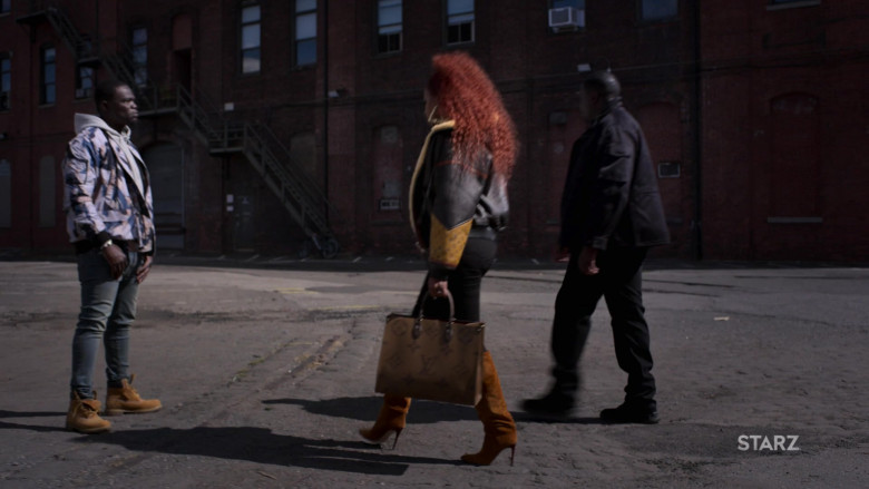 Louis Vuitton Handbag of Mary J. Blige as Monet Stewart Tejada in Power Book II Ghost S01E10 (2)