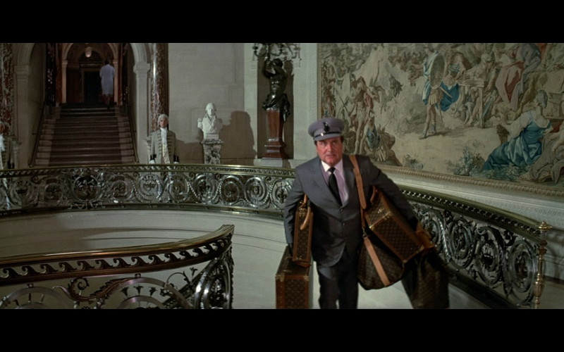 Louis Vuitton Luggage in A View to a Kill (1985)
