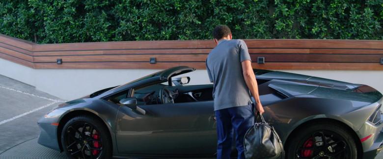Louis Vuitton Monogram Black Bag of Michael Ealy as Derrick Tyler in Fatale (2)