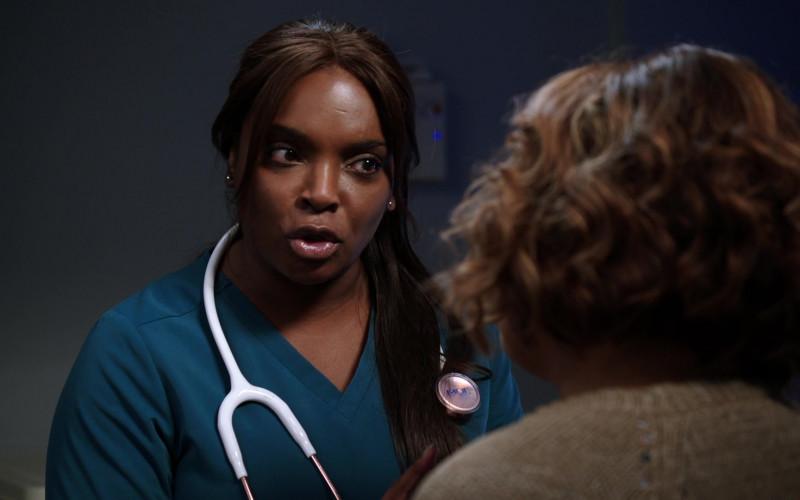 MDF Instruments Stethoscope of Marlyne Barrett as Maggie Lockwood in Chicago Med S06E03
