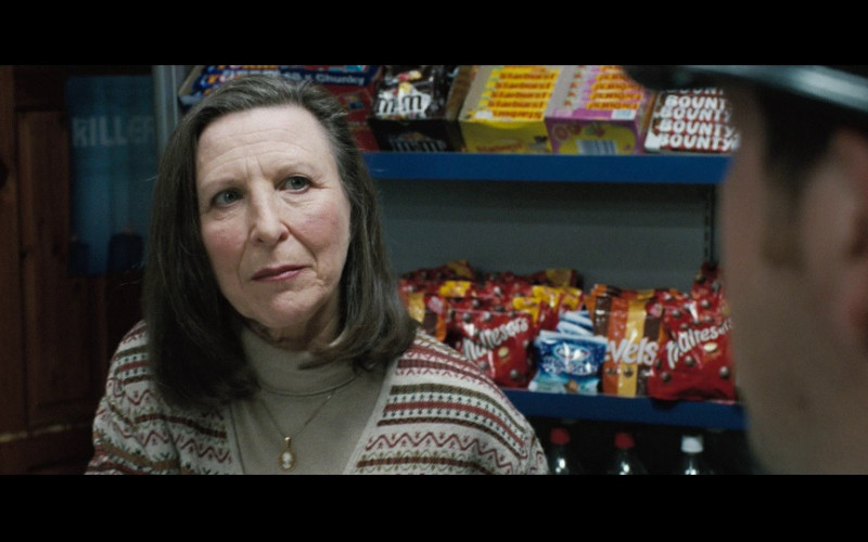 M&M's Candies & Bounty Bats in Hot Fuzz (2007)