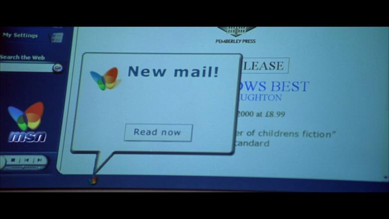 MSN in Bridget Jones's Diary (2001)
