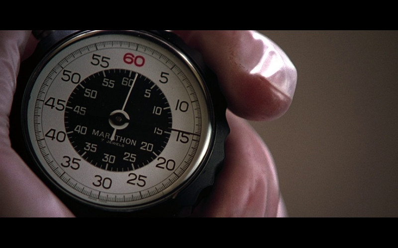 Marathon 7 Jewels Stopwatch in Don't Say a Word (2001)
